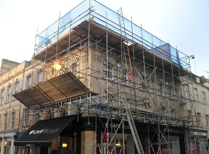Commercial Scaffolding in Peterborough